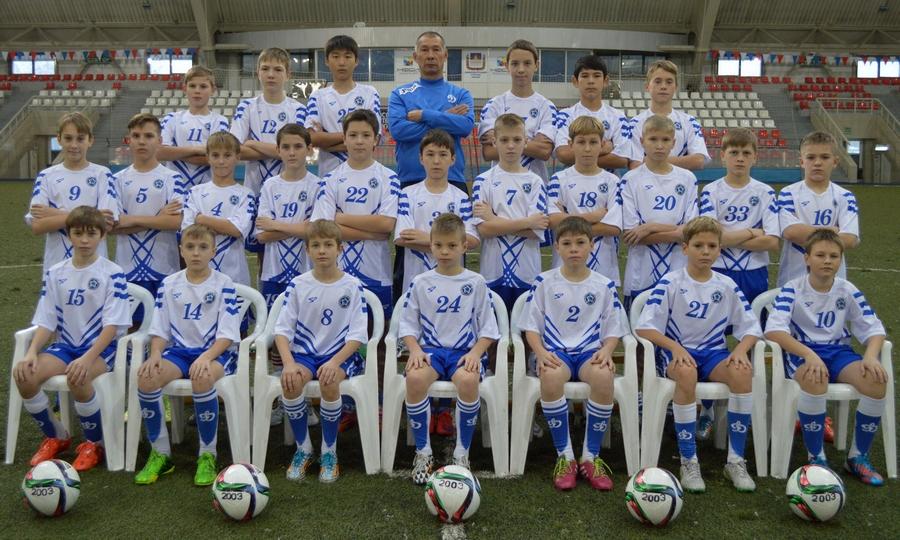 «Дубль» Максима Пролыгина приности победу СДЮСШОР «Динамо-2003»